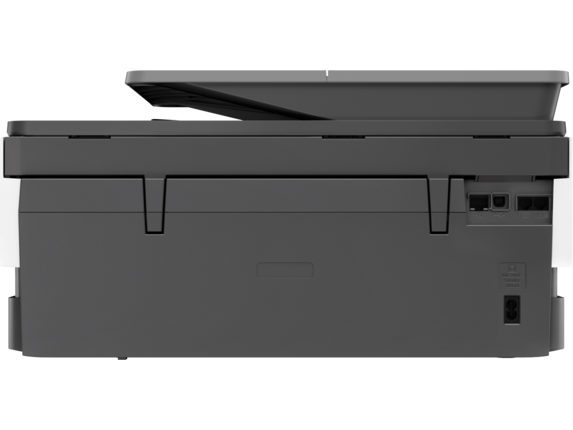 HP OfficeJet Pro 8025 All-in-One Printer - Rear