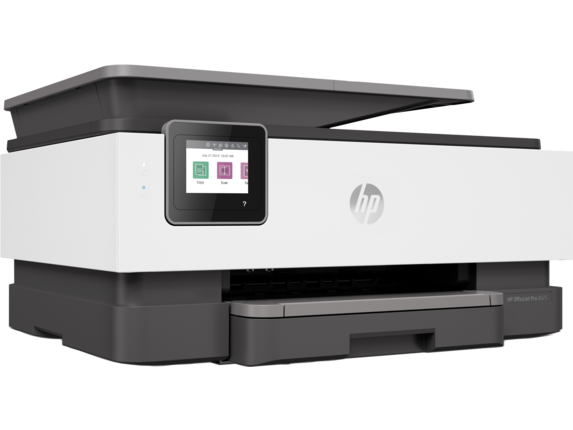 HP OfficeJet Pro 8025 All-in-One Printer - Right