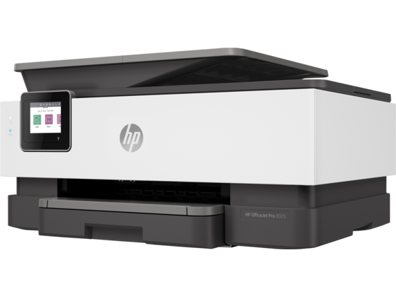 HP OfficeJet Pro 8025 All-in-One Printer - Left