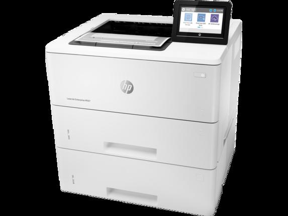 HP LaserJet Enterprise M507x - Left |white
