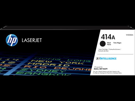 HP 414A Black Original LaserJet Toner Cartridge
