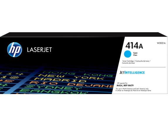 HP 414A Cyan Original LaserJet Toner Cartridge
