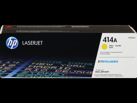HP 414A Yellow Original LaserJet Toner Cartridge