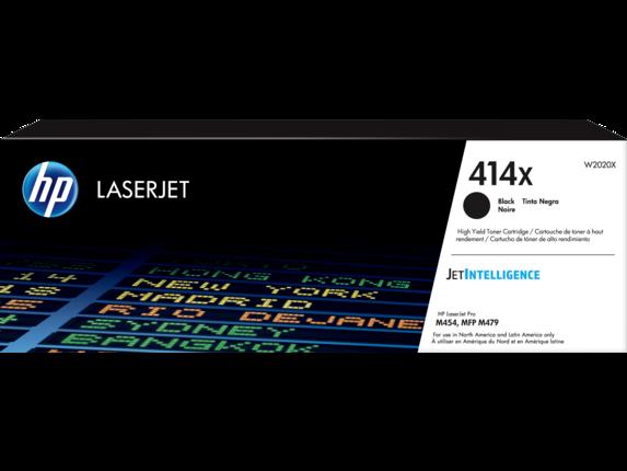 HP 414X High Yield Black Original LaserJet Toner Cartridge