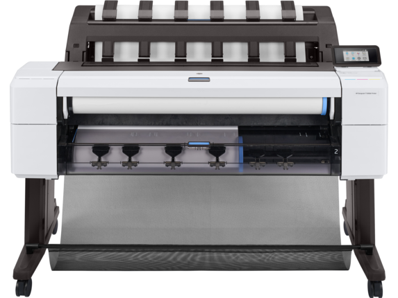 HP DesignJet T1600dr 36-in PostScript Printer - Center