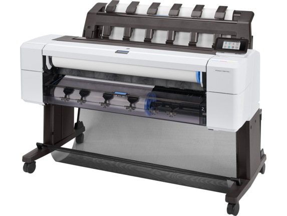 HP DesignJet T1600dr 36-in PostScript Printer - Left