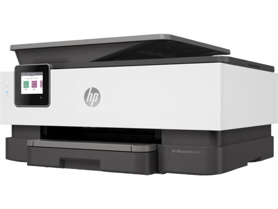 HP OfficeJet Pro 8035 All-in-One Printer - Left