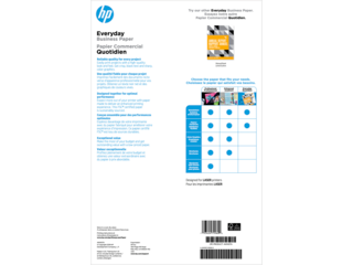 HP Laser Glossy Brochure Paper 120 gsm-150 sht/Tabloid/11 x 17 in