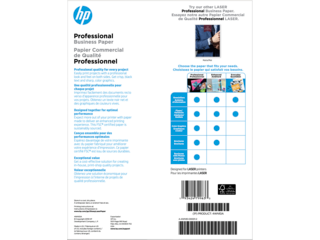 HP Laser Glossy Brochure Paper 200 gsm-150 sht/Letter/8.5 x 11 in