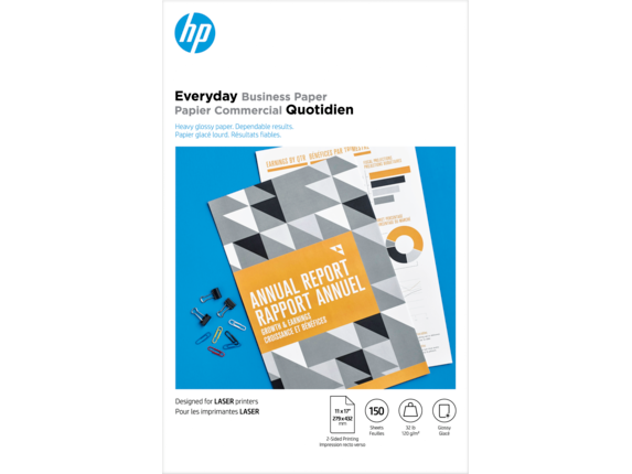 HP Laser Glossy Brochure Paper 120 gsm-150 sht/Tabloid/11 x 17 in - Center |https://ssl-product-images.www8-hp.com/digmedialib/prodimg/lowres/c06372110.png