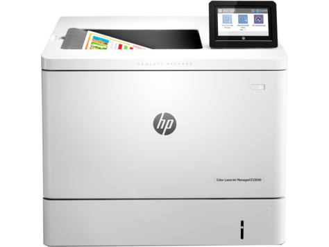 Серия HP Color LaserJet Managed E55040