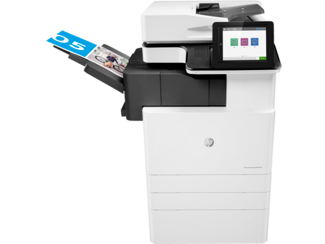 Impresora multifunción HP Color LaserJet Managed serie E87640du-E87660du