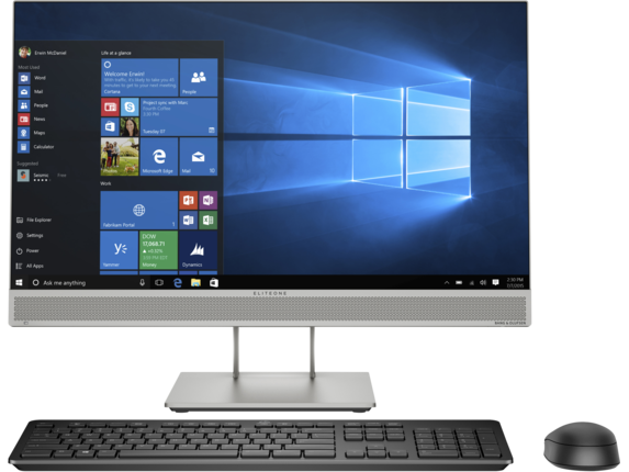 HP EliteOne 800 G5 23.8-inch All-in-One - Center