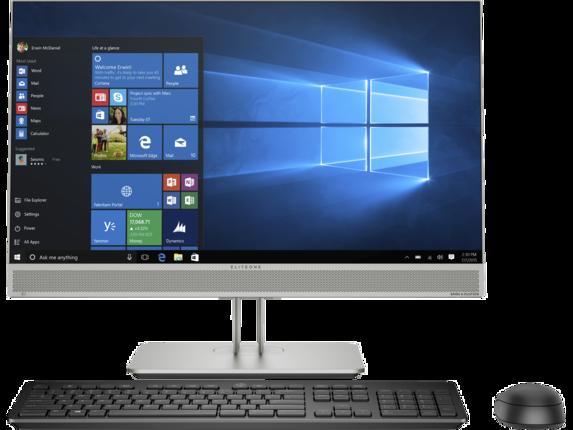 HP EliteOne 800 G5 All-in-One Computer & Display|Windows 10 Pro 64|Intel® Core™ i5 9th Gen|512 GB SSD|Intel® UHD Graphics 630|16 GB DDR4|23.8