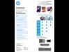 HP Inkjet Glossy Brochure Paper 180 gsm-150 sht/Letter/8.5 x 11 in