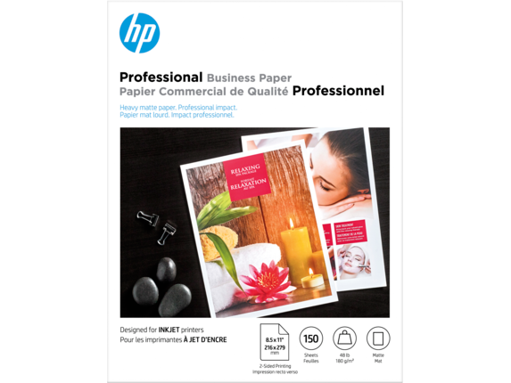 HP Inkjet Matte Brochure Paper 180 gsm-150 sht/Letter/8.5 x 11 in - Center |https://ssl-product-images.www8-hp.com/digmedialib/prodimg/lowres/c06384151.png