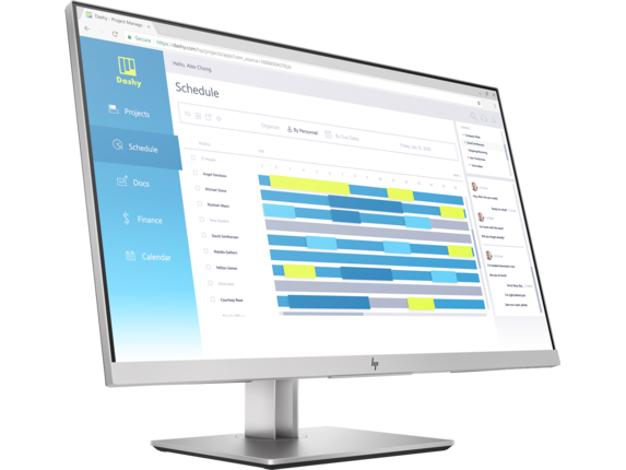HP EliteDisplay E273d 27-inch Docking Monitor - Right  https://ssl-product-images.www8-hp.com/digmedialib/prodimg/lowres/c06397250.png