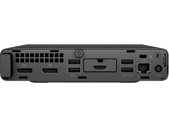 HP EliteDesk 800 G5 Desktop Mini PC - Rear