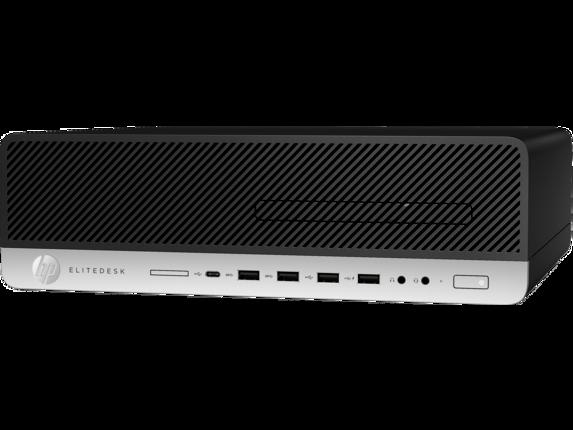 HP EliteDesk 800 G5 Small Form Factor PC - Customizable - Left