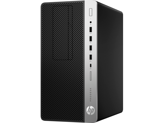 HP ProDesk 600 G5 Microtower PC - Customizable - Left