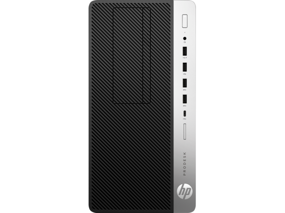 HP ProDesk 600 G5 Microtower PC - Center