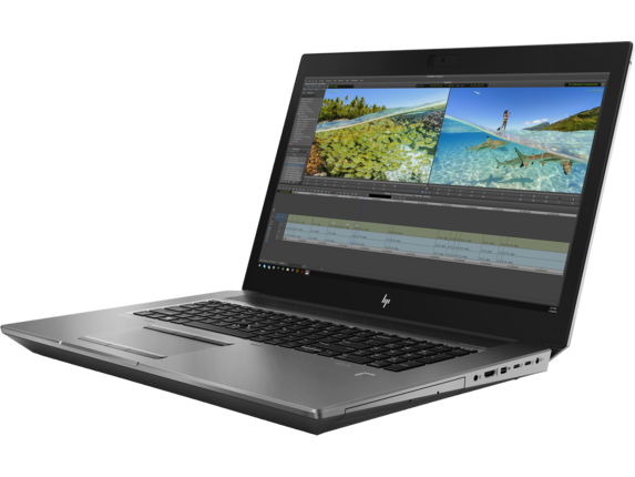 HP ZBook 17 G6 Mobile Workstation - Customizable - Left |Turbo Silver