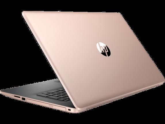 HP Laptop - 17t touch optional - Left rear