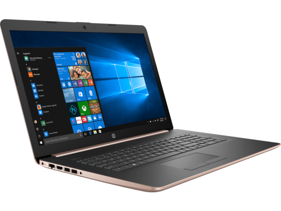 HP Laptop - 17t touch optional - Right