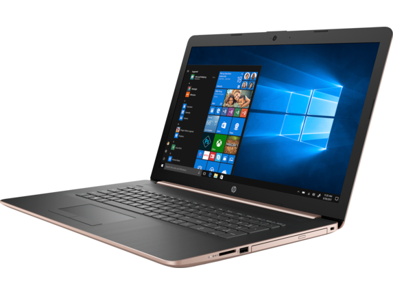 HP Laptop - 17t touch optional - Left