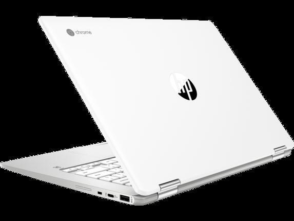 HP Chromebook x360 - 14b-ca0010nr - Left rear