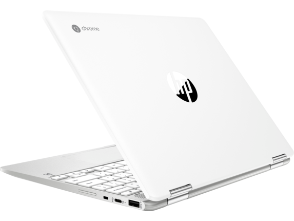 HP Chromebook x360 - 12b-ca0010nr - Left rear