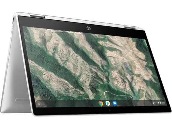 HP Chromebook x360 - 14b-ca0010nr - Right rear