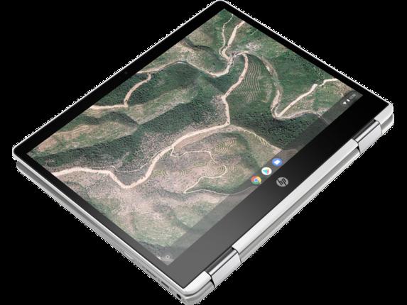 HP Chromebook x360 - 12b-ca0010nr - Top view closed