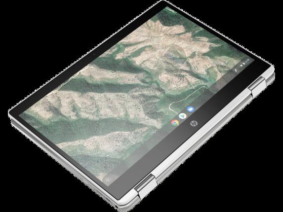 HP Chromebook x360 - 14b-ca0010nr - Top view closed
