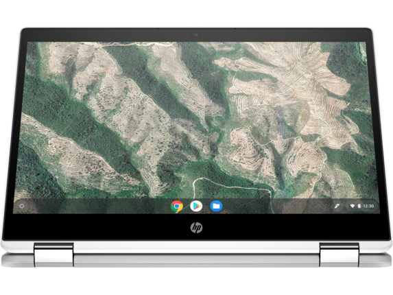 HP Chromebook x360 - 14b-ca0010nr - Right screen center