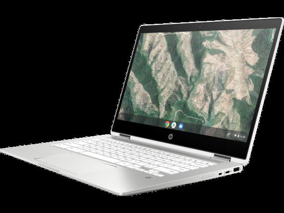 HP Chromebook x360 - 14b-ca0010nr - Left