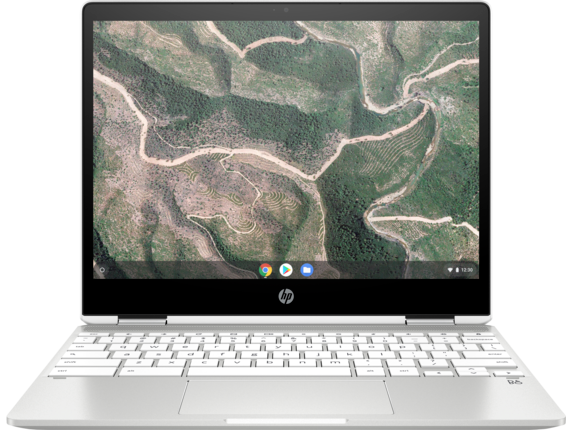 HP Chromebook x360 - 12b-ca0010nr - Center