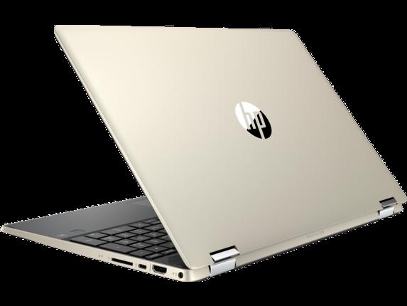 HP Pavilion x360 Laptop - 15t touch - Left rear