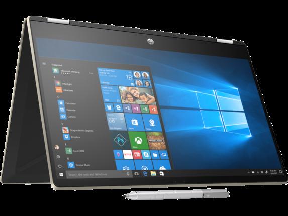 HP Pavilion x360 Laptop - 15t touch - Right rear