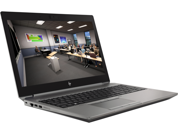 HP ZBook 15 G6 Mobile Workstation - Customizable - Right |Turbo Silver