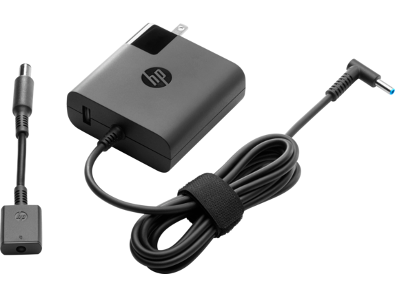 HP Travel Adapter 90W [The slim, light form factor travels easily and packs the extra power when you need it. Perfect for replacing an existing adapter or using as a backup, regulating power based on your device's needs. When you're on the go, easily ...