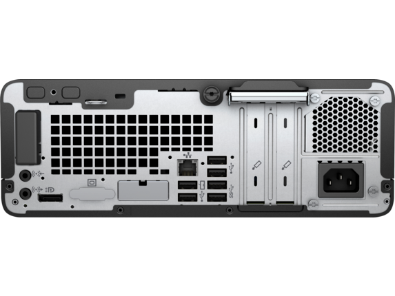 HP ProDesk 400 G6 Small Form Factor PC - Rear |https://ssl-product-images.www8-hp.com/digmedialib/prodimg/lowres/c06435794.png