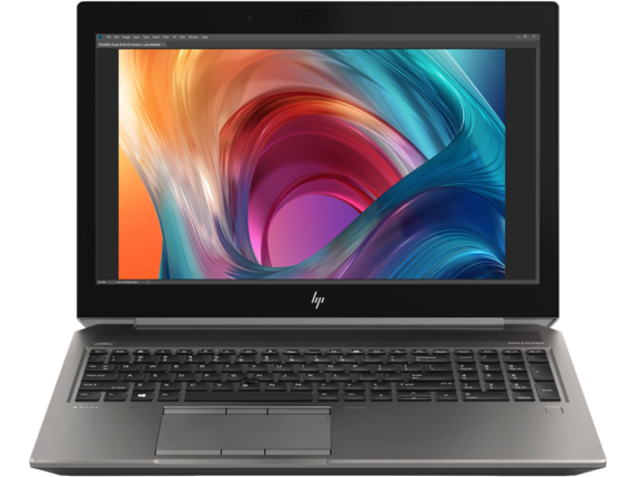 HP ZBook 15 G6 Mobile Workstation - Center |Turbo Silver