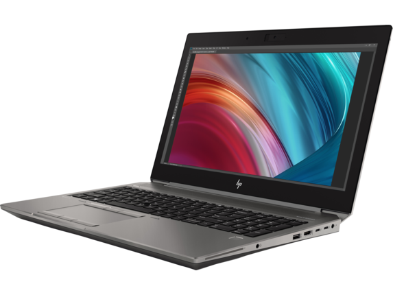 HP ZBook 15 G6 Mobile Workstation - Left |Turbo Silver