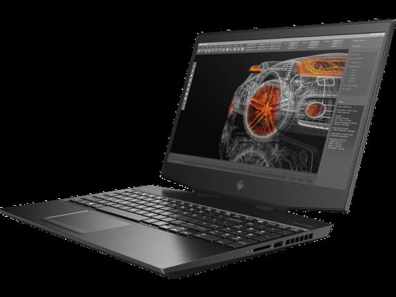 Omen RTX Studio Laptop - 15-dh002nr - Left