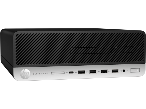 HP EliteDesk 705 G5 Small Form Factor PC - Right