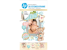 HP Moment Makers 2 x 3-in 3D Baby Easel Frame