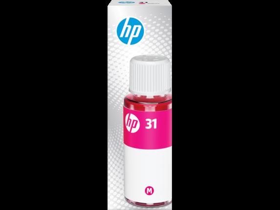 HP 31 70-ml Magenta Original Ink Bottle, 1VU27AN