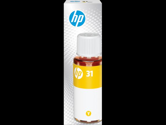 HP 31 70-ml Yellow Original Ink Bottle, 1VU28AN