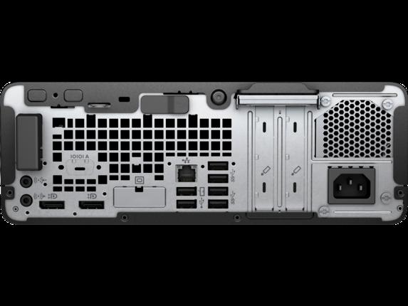 HP EliteDesk 705 G5 Small Form Factor PC - Rear